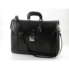 Verona Capri Leather Laptop Briefcase