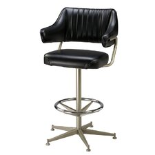 Retro Bucket Swivel Bar Stool