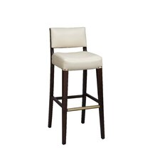 Solid Back Bar Stool