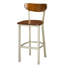 Frame-Moon Seat/Back Bar Stool