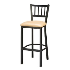 Jailhouse Back Bar Stool