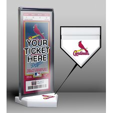 Home Plate Ticket Display Stand