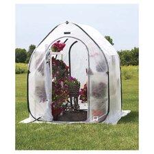 5 Ft. W x 5 Ft. D Polyethylene Mini Greenhouse