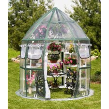 Conservatory 8.5 Ft. W x 8.5 Ft. D PVC Greenhouse