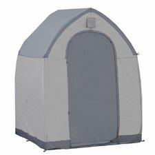 StorageHouse 5 Ft. W x 5 Ft. D Plastic Poratable Shed