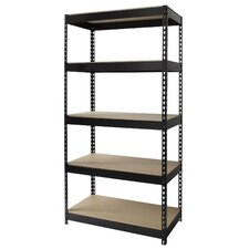"Horse Rivet 72"" 4 Shelf Shelving Unit Starter"
