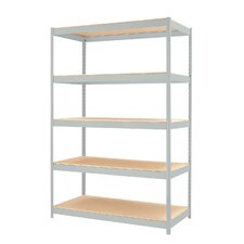 "1500 Series 72"" H 4 Shelf Shelving Unit Starter"