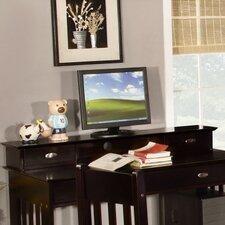 """Espresso 5"""" H x 45.25"""" W Desk Hutch"""