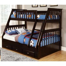 Twin Over Full Slat Customizable Bedroom Set