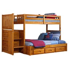 Weston Twin Over Full Storage standard Customizable Bedroom Set