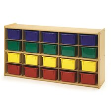 Value Line 20 Cubbie Storage with Trays