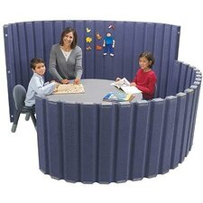 """48"""" SoundSponge Quiet Dividers Wall with 2 Support Feet"""