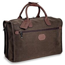 "Nevada 18"" Leather Carry-On Duffel"