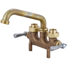 """Laundry Faucet with 3.5"""" Centers and Straddle Legs"""