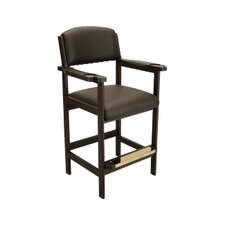 "Furniture Deluxe Spectator 26"" Bar Stool with Cushion"
