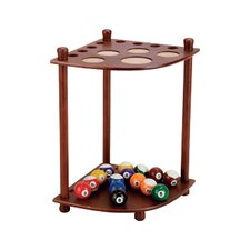 8 Pool Cue Corner Floor Rack