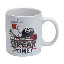 CueStix Novelty Items Breaktime Coffee Mug