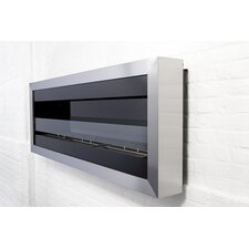 Glass Insert for Square Fireplace