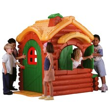 Active Play Wilderness Log Cabin Playhouse
