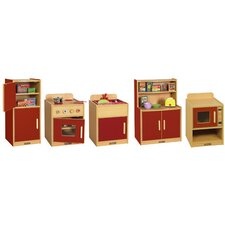 5 Piece Play Kitchen Set