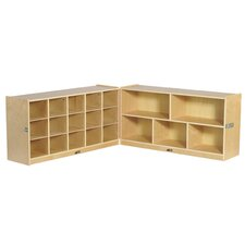 Fold and Lock 20 Tray Storage Cabinet