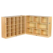 Fold and Lock 33 Tray Storage Cabinet