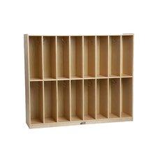 16-Section Locker