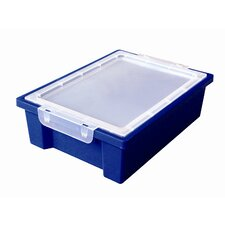 Small Storage Bin with Clear Lid (Set of 20)