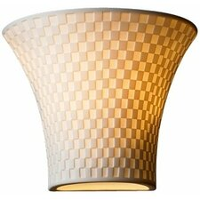 Limoges 1 Light Wall Sconce with Shade