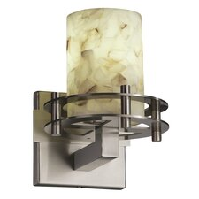 Alabaster Rocks!™ 1 Light Circa Wall Sconce