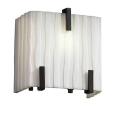 Porcelina™ 1 Light Clips Wall Sconce