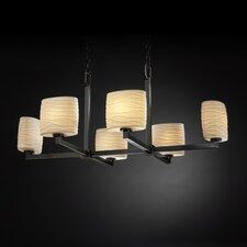 Limoges Modular 6 Light Chandelier