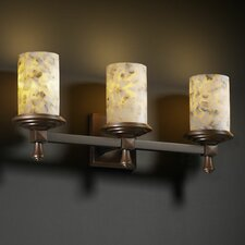 Alabaster Rocks Deco 3 Light Bath Vanity Light