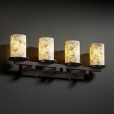 Alabaster Rocks Dakota 4 Light Bath Vanity Light