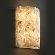 Alabaster Rocks 2 Light Wall Sconce
