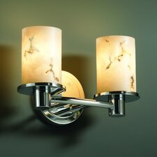 LumenAria Rondo 2 Light Bath Vanity Light