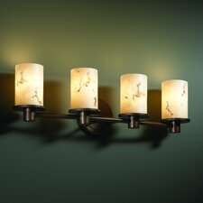 LumenAria Rondo 4 Light Bath Vanity Light