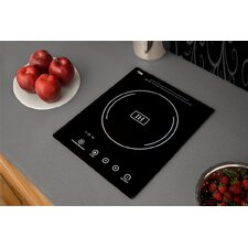 "12"" Electric Induction Cooktop with 1 Burner"