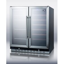 Dual Zone Built-In Wine Refrigerator