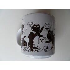 Animates Cat 11 oz. Mug (Set of 2)