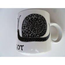 "Vintage French L'Escargot ""Snail"" 11 oz. Mug (Set of 2)"