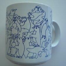 Animates 11 oz. Daytime Penguins Mug (Set of 2)