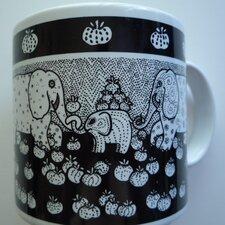 Primitives 11 oz. Elephant Mug (Set of 2)