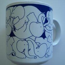 Animates 11 oz. Nitetime Elephants Mug (Set of 2)