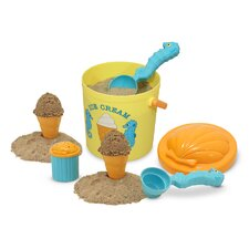 Speck Seahorse 7 Piece Sand Ice Cream Set