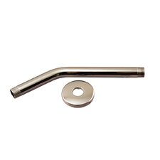"""10"""" Shower Arm with Sure Grip Flange"""