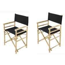 Phat Tommy Foldable Directors Chair (Set of 2)