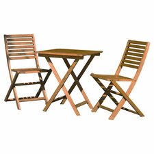 Phat Tommy 3 Piece Bistro Dining Set