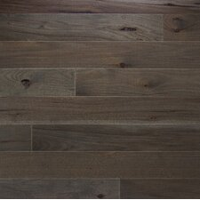 """Character 5"""" Solid Hickory Hardwood Flooring in Ember"""