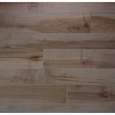 """Character 5"""" Solid Maple Hardwood Flooring in Onyx"""